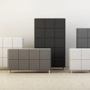 Akusztikus tárolók-szekrények